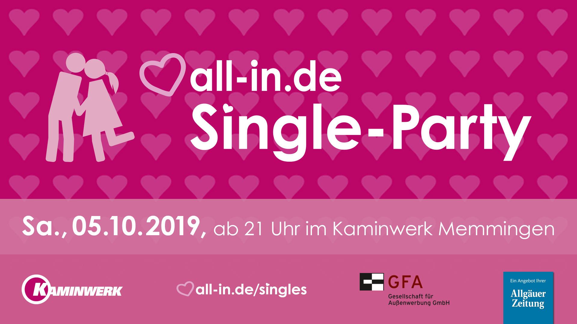 Kaminwerk memmingen single party